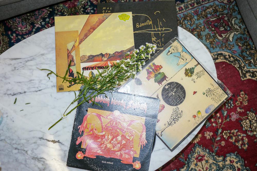 Sunny's favorite records
