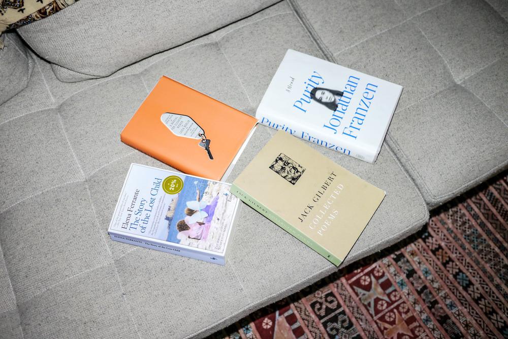 Claire's favorite books