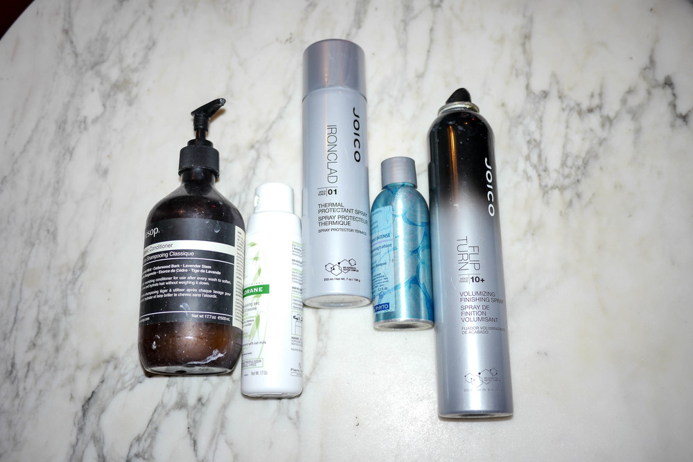 Ly's favorite hair products