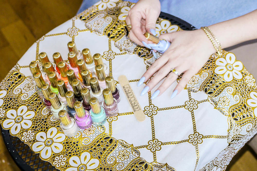 Janine's FLOSS GLOSS nail collection