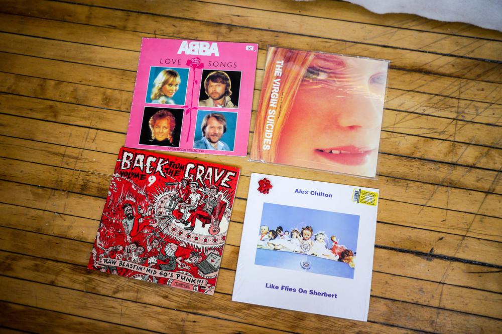 Sue's favorite records