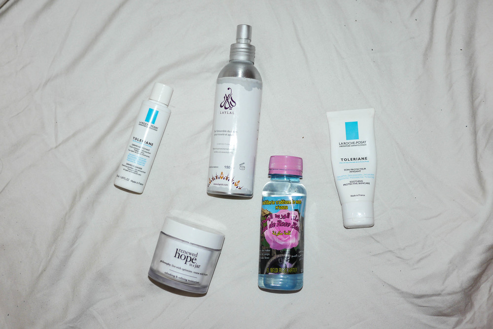 Zahra's favorite beauty products
