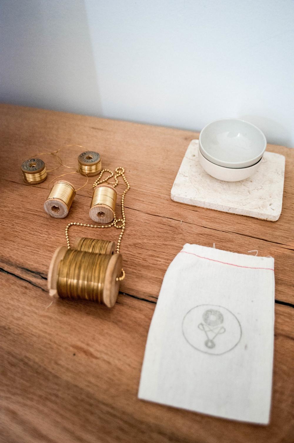 Lizania's jewelry line, Bagavundas