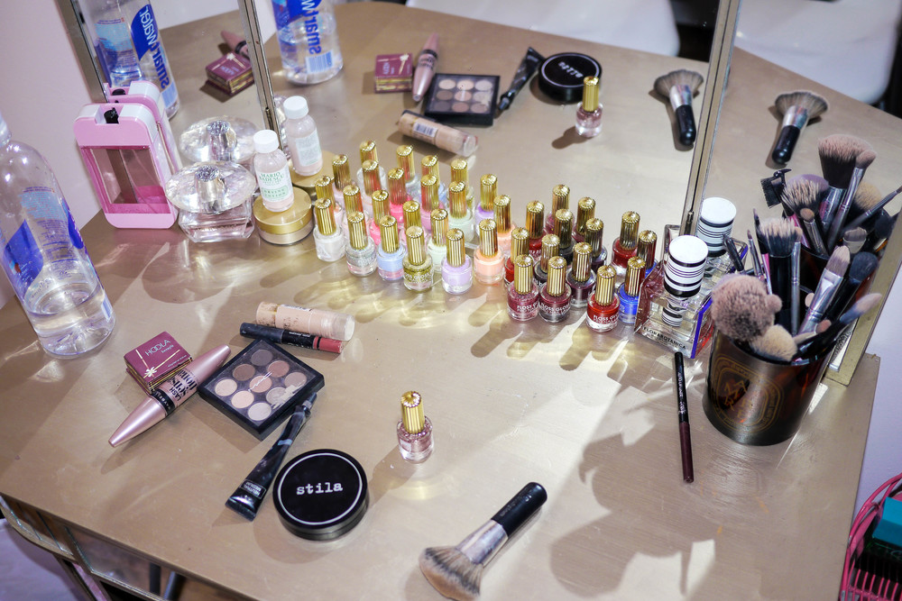 Bianca's favorite makeup products