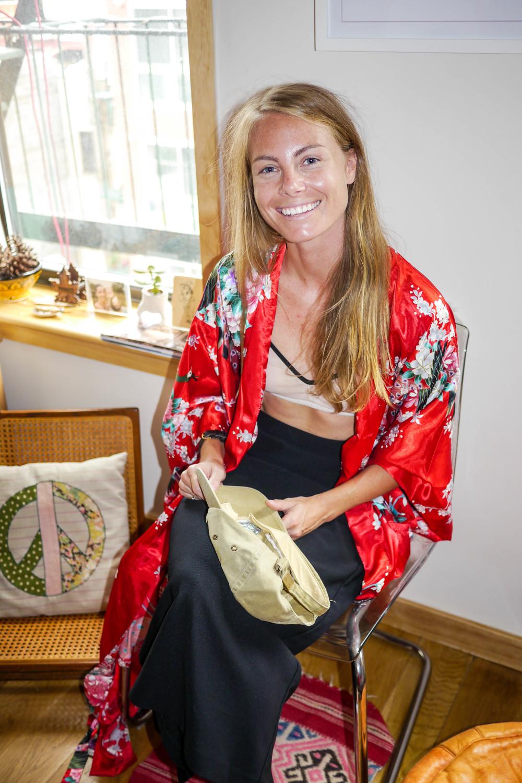 Kimono, Vintage ;    Bra, Negative Underwear