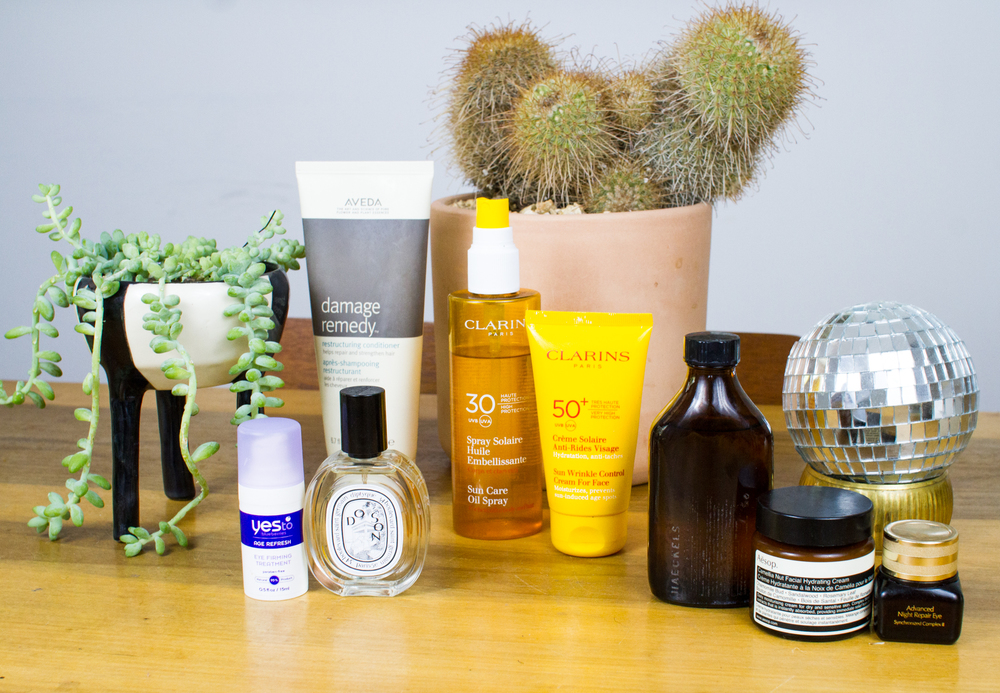Julia's favorite skincare products