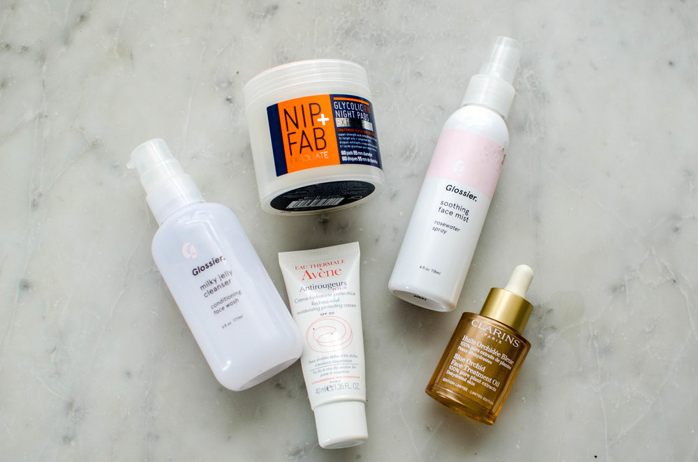 Gia's favorite skincare products