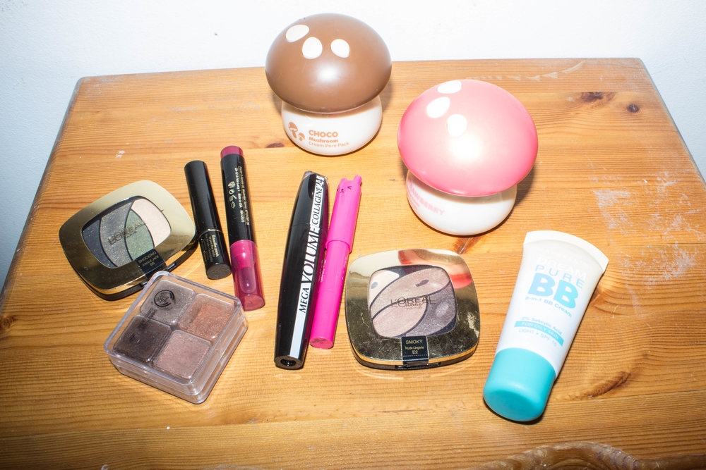 Ally's favorite beauty products
