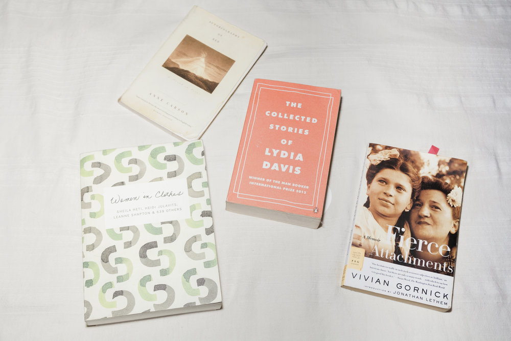 Kaye's favorite books