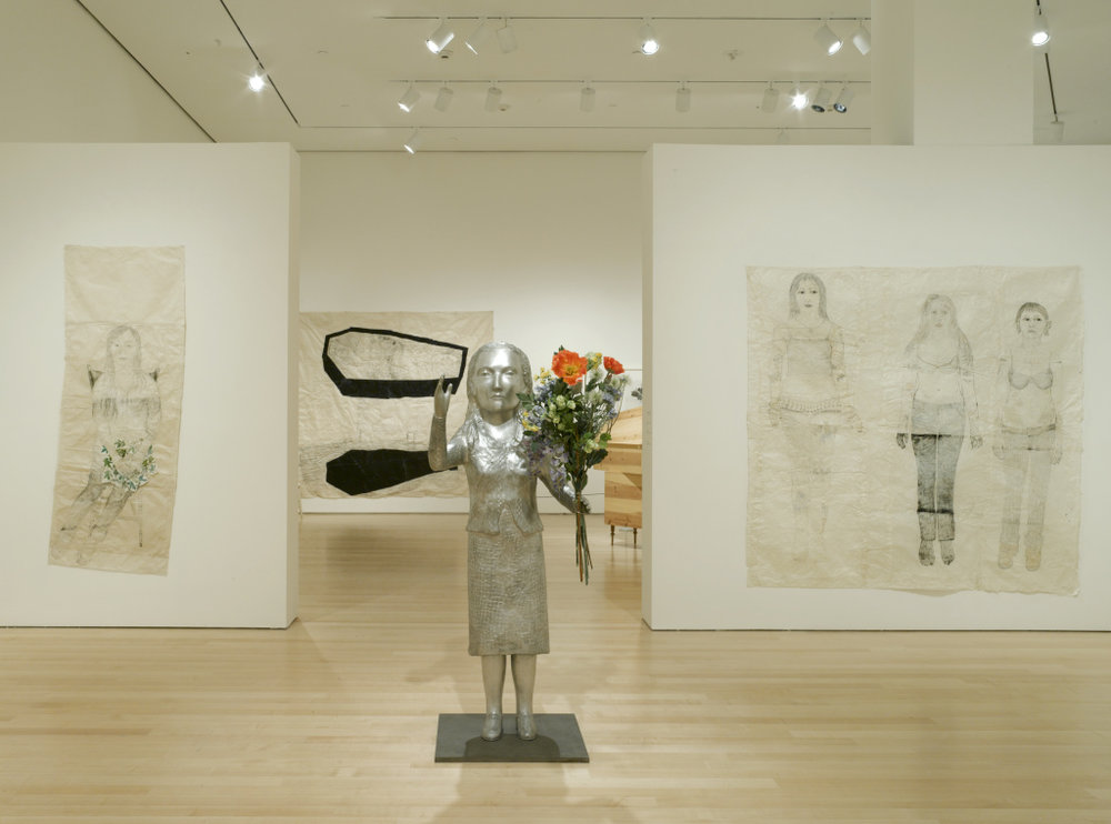 View of Kiki Smith Sojourn Installation at the Brooklyn Museum (2010) ;  Image Courtesy of Art Observed