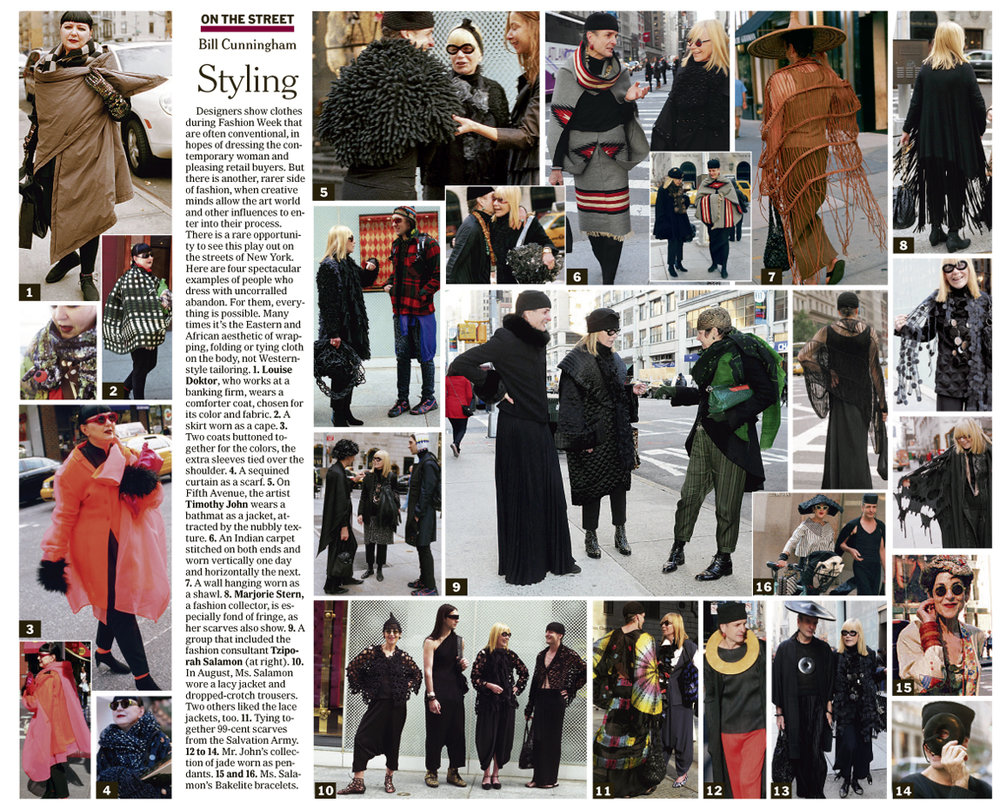 """Styling,"" Feb. 12, 2012 ; Image Courtesy of The New York Times"