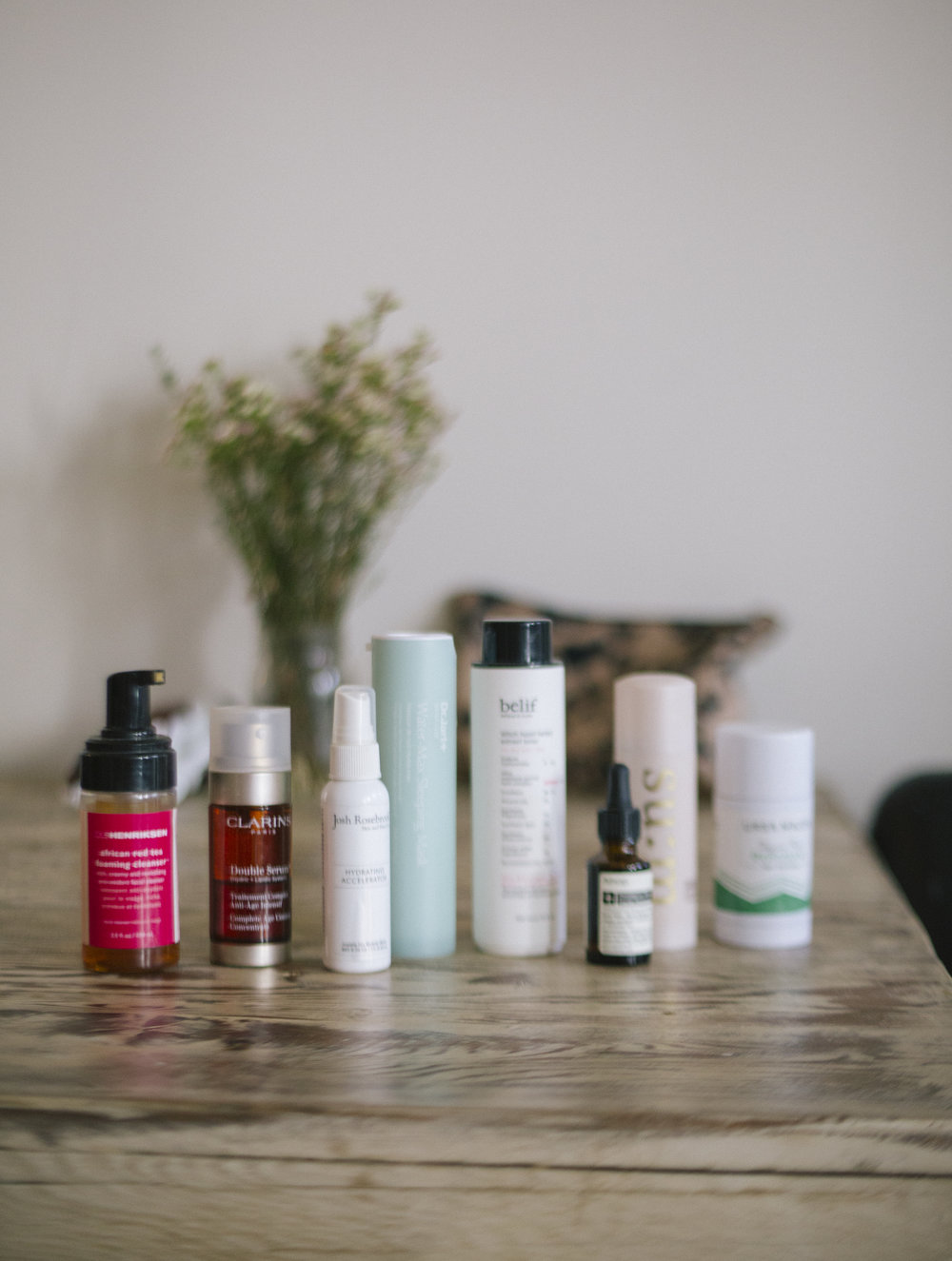 Some of Jeni's favorite beauty products