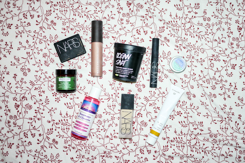 Some of Heba's favorite beauty products