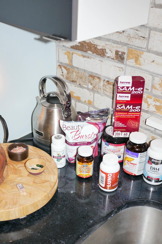 Olivia's health regimen