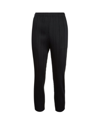 PLEATS PLEASE BY ISSEY MIYAKE PLISSÉ SLIM TROUSERS