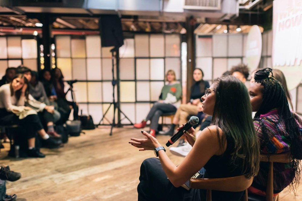 Moderator, Erin Allweiss