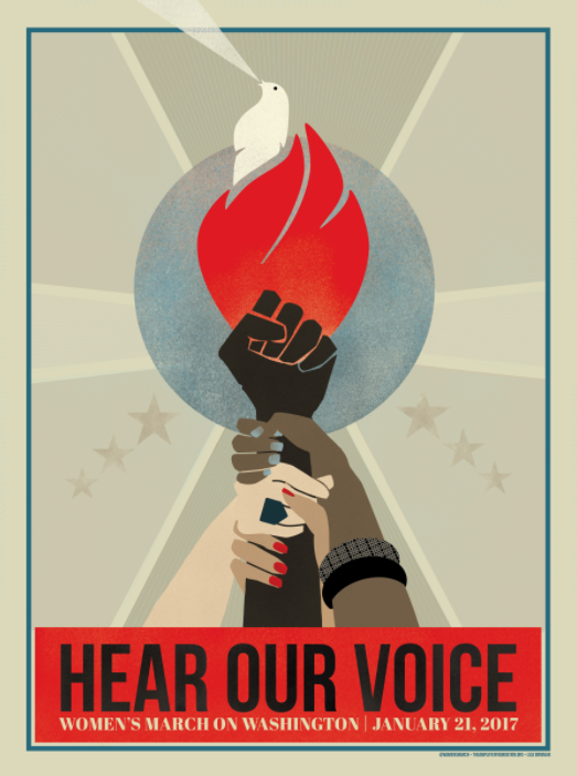 "Liza Donovan, ""Hear Our Voice."""