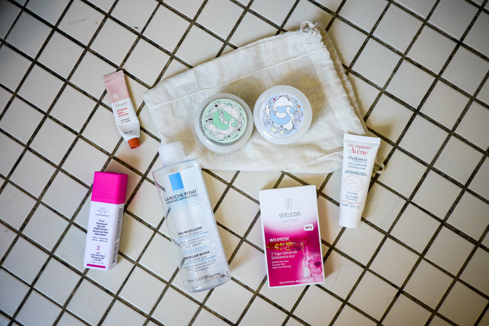 Verena's favorite skincare products