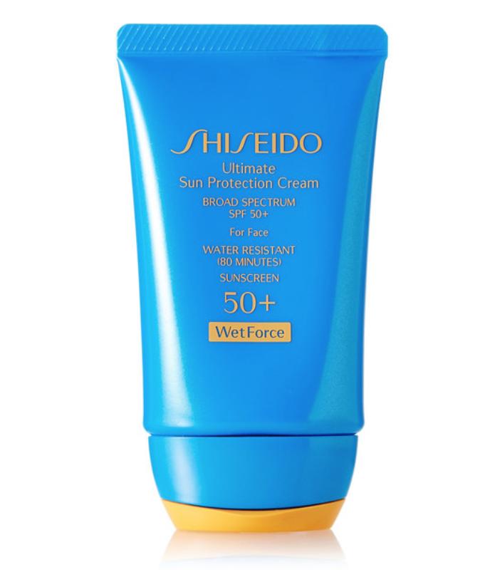SHISEIDO - ULTIMATE SUN PROTECTION CREAM SPF50 WETFORCE, 50ML - ONE SIZE