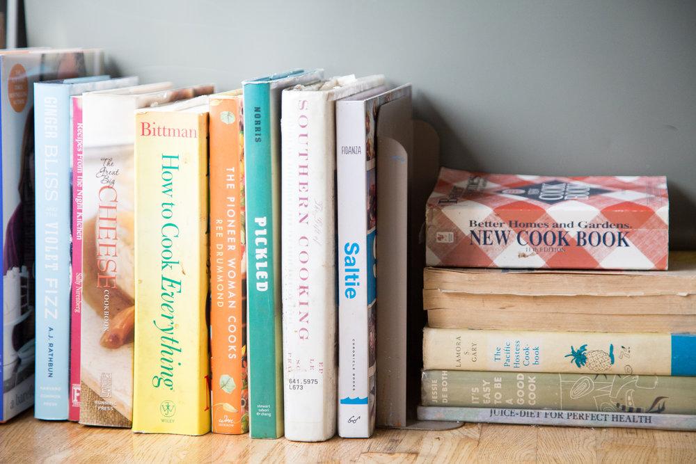 Sarah's book collection