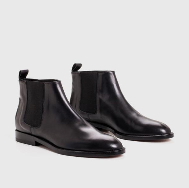 Jenni Kayne Chelsea Boot black leather