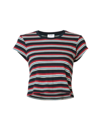 re/DONE striped tee
