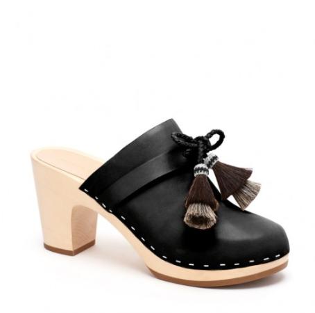 Loeffler Randall black clogs