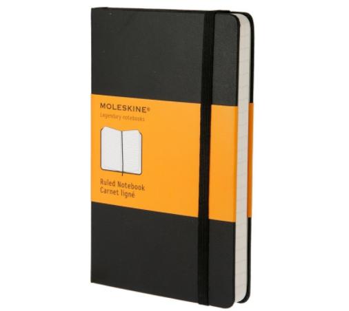Moleskine Classic Notebook ruled