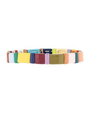 rosie assoulin rainbow spectrum bracelet