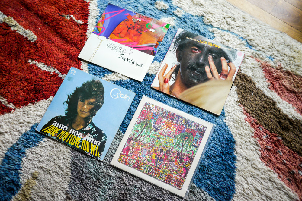 Some of Lisa's favorite records