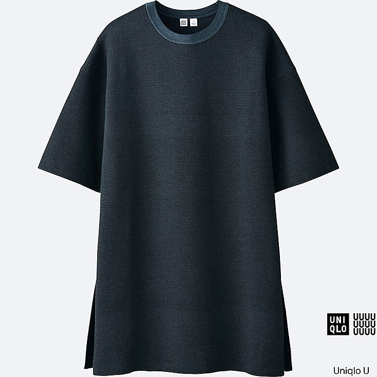 Uniqlo U Milano Ribbed Crew Neck Tunic