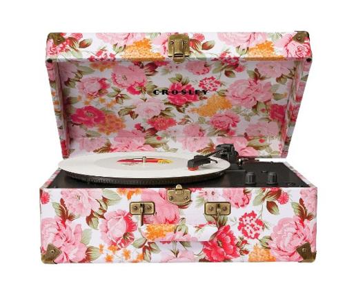 Crosley Radio Keepsake Portable Turntable - Floral