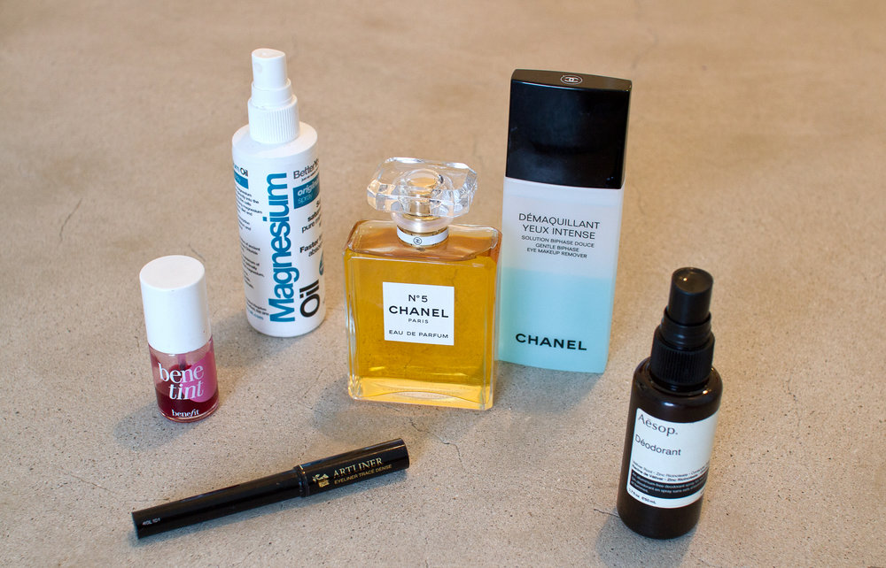 Marawa's favorite beauty products
