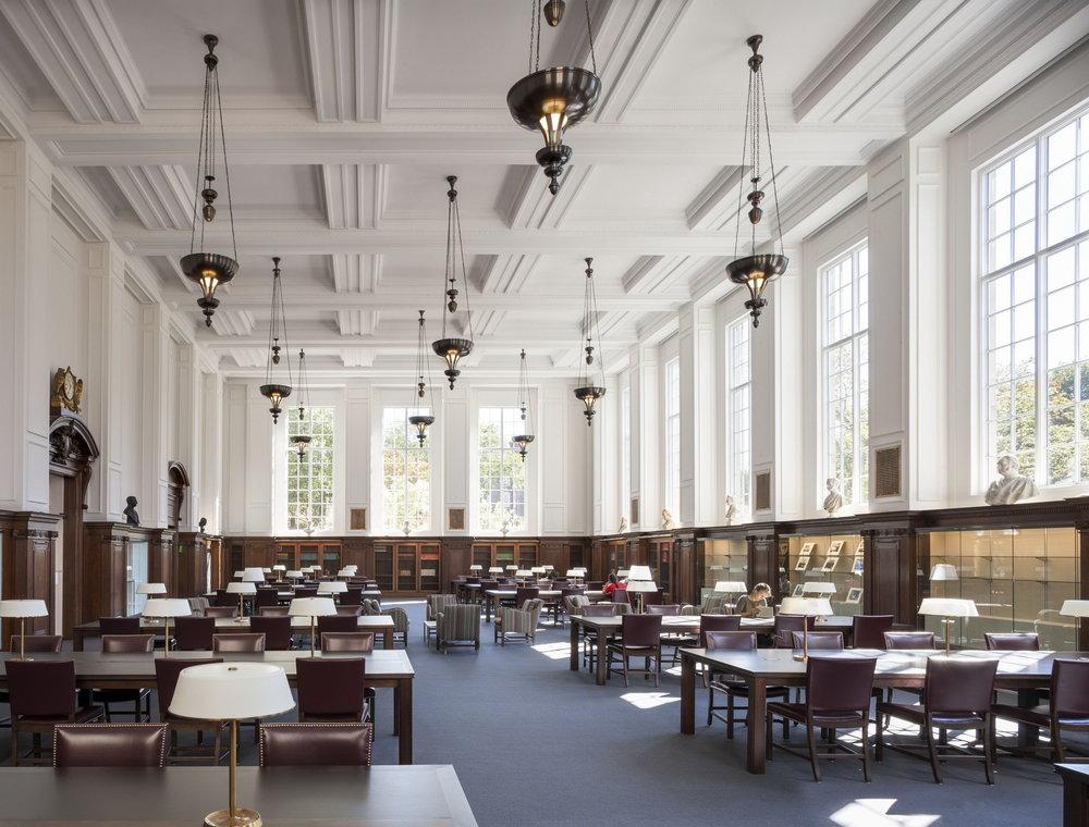 Brown University, John Hay Library, image courtesy  Selldorf Architects