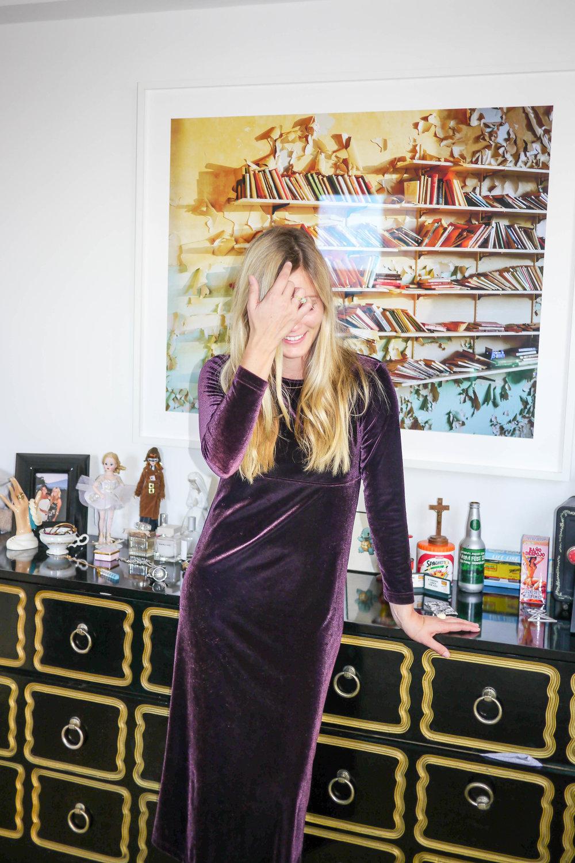 Dress, Vintage ; Photograph, Paul D'Amato