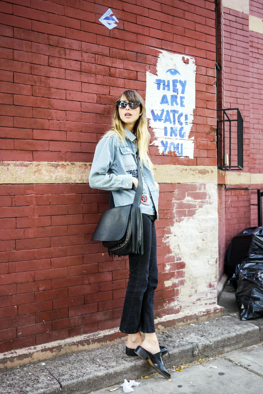 Top:White Stag,Pants &Shoes:Zara, Bag:Coach ,Jacket:Street Property