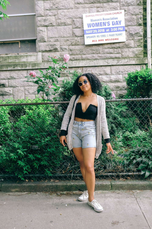 Shorts: Streetwear Society, Shoes:  Keds