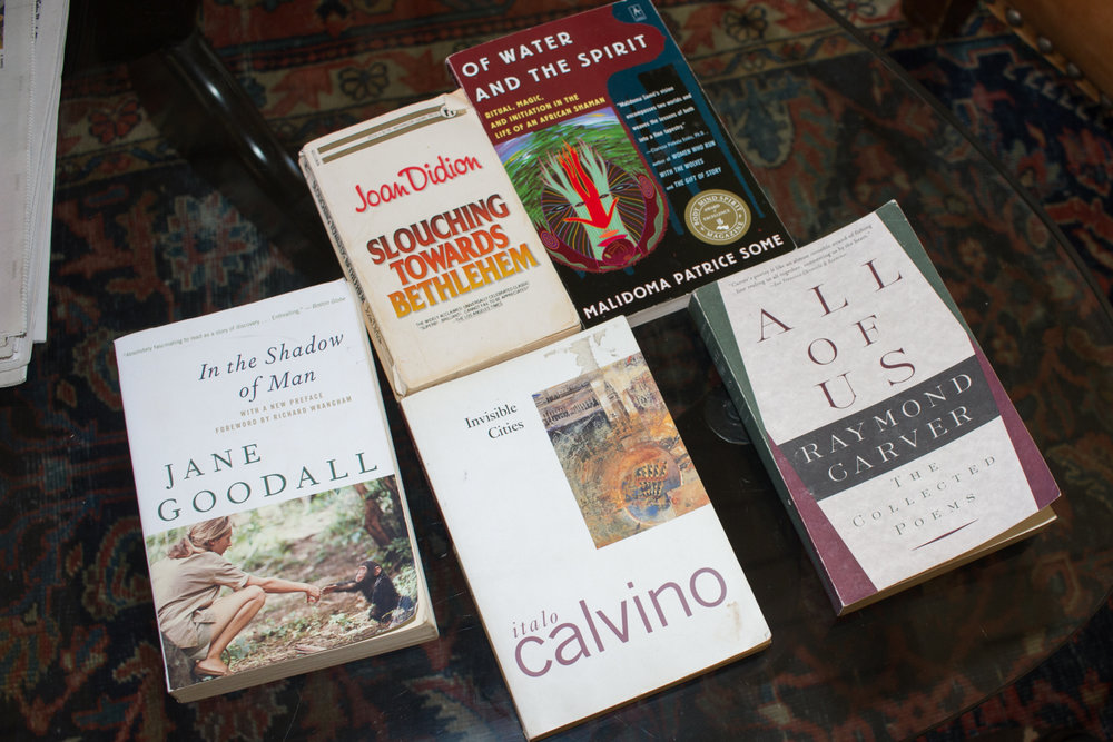 Puno's favorite books
