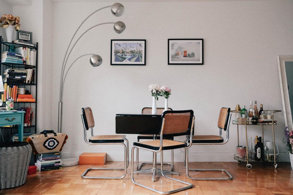 Artwork over the table, Gray Malin