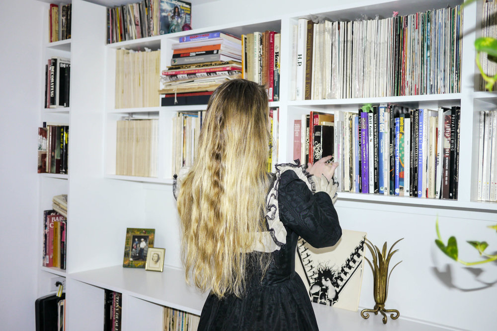 Laura Helms , fashion archivist