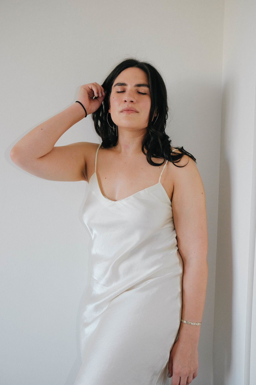 Dress: WinterSilks