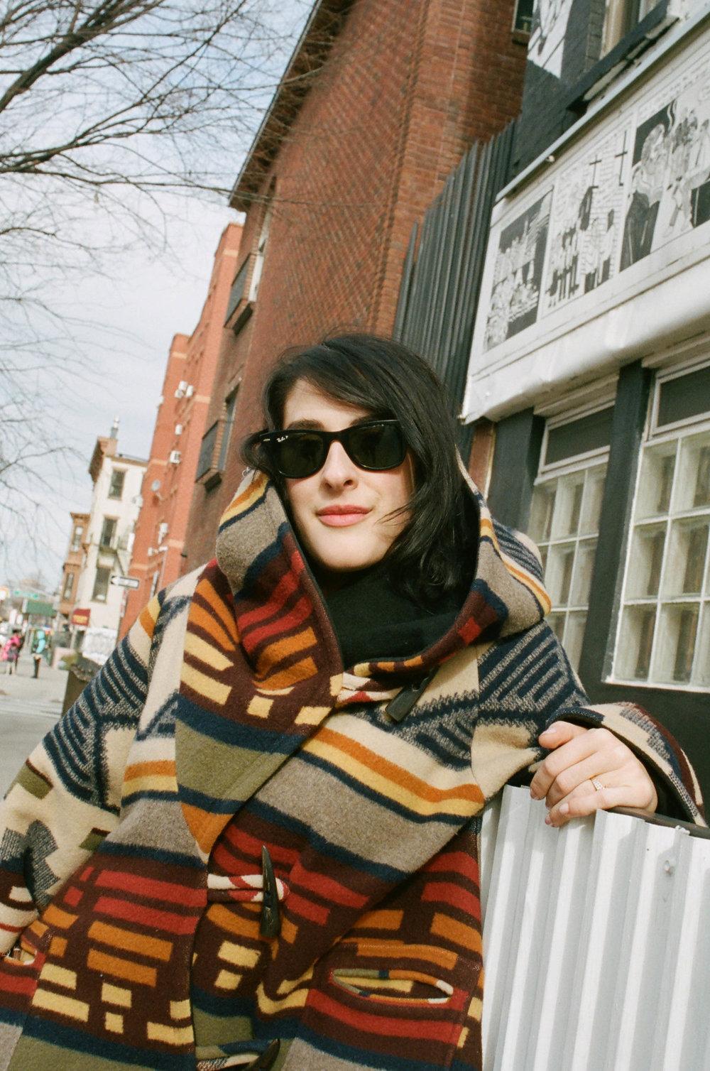 Coat, Lindsey Thornburg, Bag, KARA