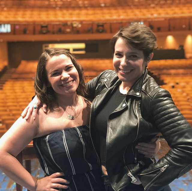 This woman. 😍⁣ ⁣ What a star. She is currently the dance captain and stand by for 5 ROLES in the 1st National Tour of Come From Away. She absolutely BLOWS my mind with her hustle, hard work, talent, leadership, and determination in this industry.⁣ ⁣ I look up to her in so many ways, and appreciate her friendship to no end. ⁣ ⁣ @janerbunting thank you for such a wonderful experience at the show this weekend and for being the amazing woman you are!⁣ ⁣ {Swipe to see how effing weird we are}⁣ ⁣ #actresses #comefromaway #ahmanson #backstage #bts #womenintheindustry #girlpower #womensupportingwomen #empoweredwomenempowerwomen #womenintheatre