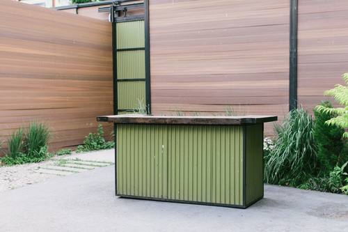1  8  x 4  Outdoor Bar. Furniture   The Green Building
