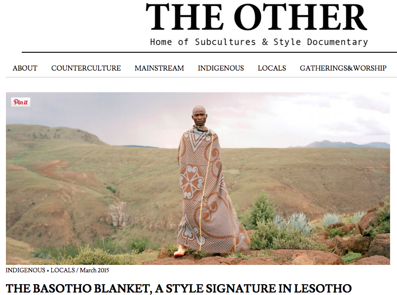 The Other - Basotho Blankets
