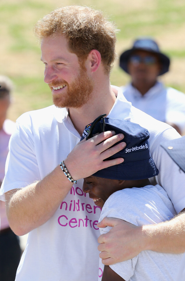 Prince Harry and Friend