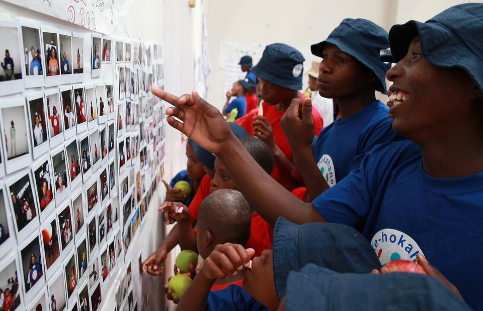 Sentebale Children Photo Wall