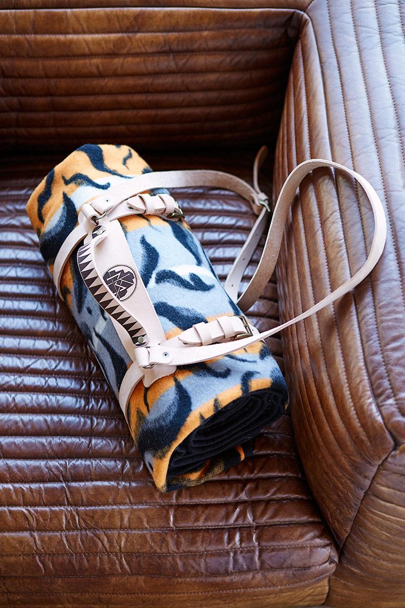 Malekabe Blanket Roll Photographed By Inge Prins
