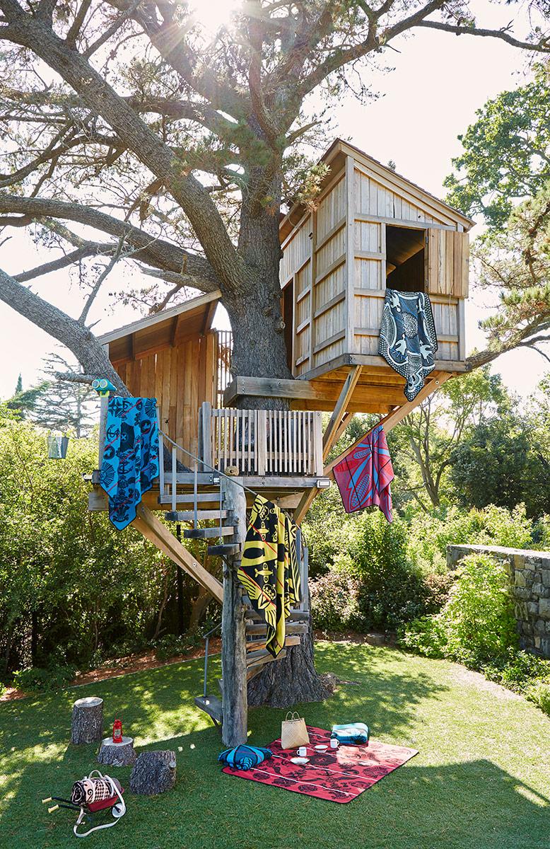 Mountain Kingdom Treehouse Photographed By Inge Prins