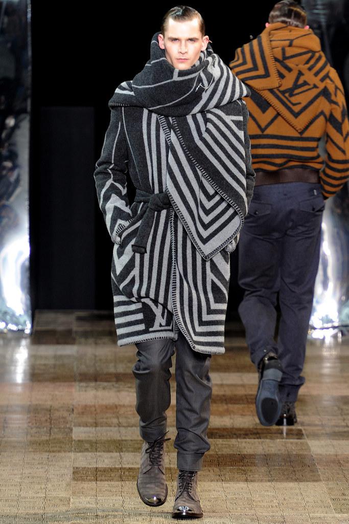 Louis Vuitton - AW12 Menswear collection